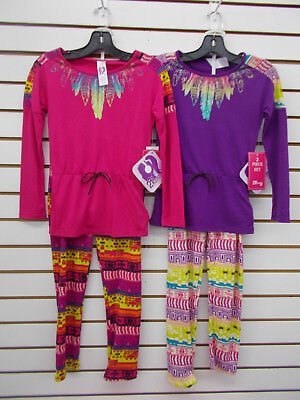 Girls 21st Century Girl $38 2pc Pink or Purple Sets Size 4 - 6X