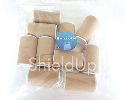 10 x strong cardboard tubes Small Mail Posting Tube 25mm diameter by 50mm long