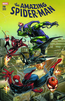 Amazing Spider-Man 799 Clayton Crain Connecting Variant Red Goblin Origin Hot!