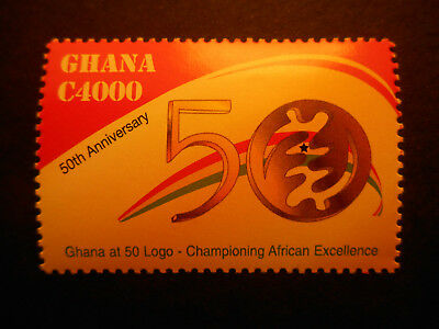 Ghana 2007 50th Anniversary of Independence 1st Issue SG 3624 MNH (set of one)