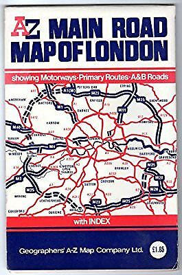 M25 Main Road London, Geographers A-Z Map Company, Used; Acceptable Book