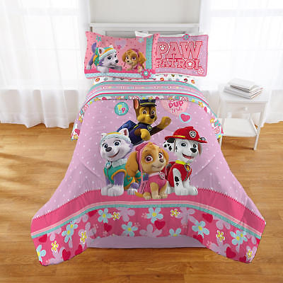 Comforter Twin Nickelodeon Paw Patrol Girl Hypoallergenic Warmth Appealing Color