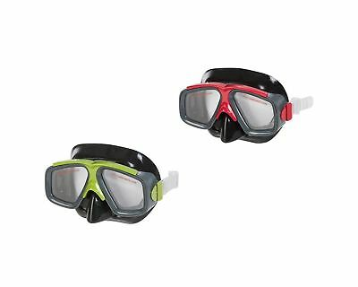 Intex Surf Rider i.12, UnisexAdult Mask, Red/Green, 22.9x 7.9x 21