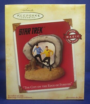 "Star Trek ""The City On The Edge Of Forever"" Hallmark Keepsake"