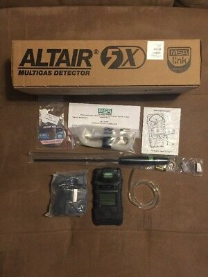 MSA 10116926 Altair 5X Gas Detector LEL, O2, CO, H2S- BRAND NEW! No Battery!