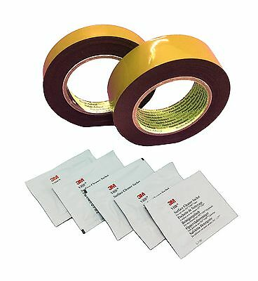 3M VHB 5361p Double Sided Adhesive Tape Cleaning Cloths D=1,1mm Mounting Tape