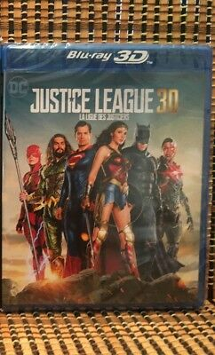 Justice League 3D (2-Disc Blu-ray, 2018)Superman/Batman/Wonder Woman