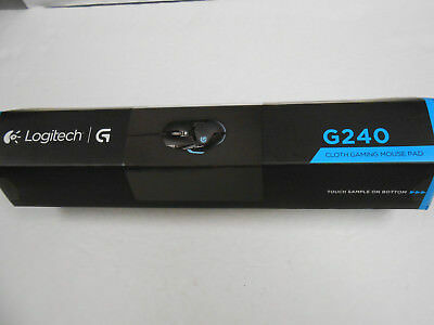 NEW Logitech G240  Gaming Mouse Pad Black