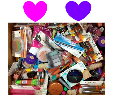 35 pc Makeup Mixed Lot NYX, Revlon, L'Oreal, CoverGirl, Maybelline, Hard Candy!!