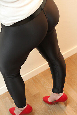 Sleekcheek Mega Cameltoe Leggings HL2AW PowerSpandex 270 Gr. M