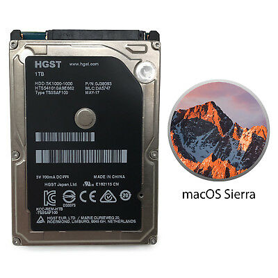 HGST 1TB Hard Drive Apple Mac Mini macOS  Sierra Preinstalled HTS541010A9E66