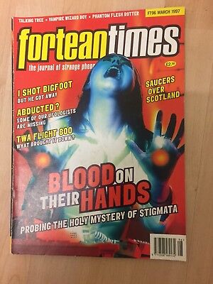 Fortean Times FT96 March 1997 Stigmata