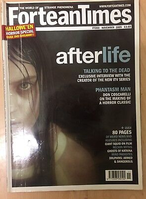 Fortean Times FT203 Nov 2005 Afterlife