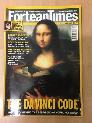 Fortean Times FT193 Feb 2005 The Da Vinci Code