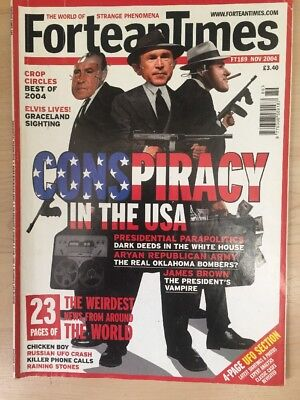 Fortean Times FT189 Nov 2004 Piracy in the USA