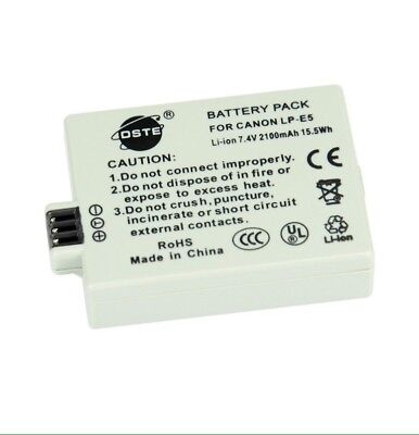 DSTE LP-E5 Rechargeable Li-ion Battery Pack