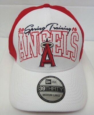 separation shoes 149f0 0ed95 Los Angeles Angels of Anaheim Men s New Era M L 39THIRTY Spring Training  Hat Cap