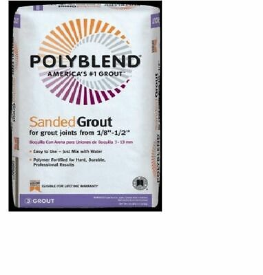 Custom Building Products Polyblend Sanded Tile Grout 25 LB Bag