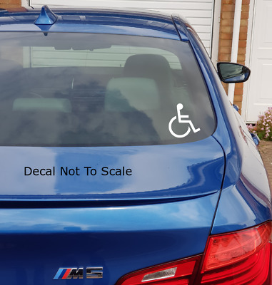 not all disabilities are visible vinyl sticker-decal,car,van,disabled,warning