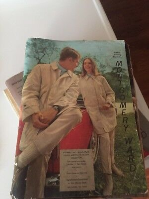 1966 Montgomery Ward Catalog Spring Summer Fashions Home Vintage 1309 pages