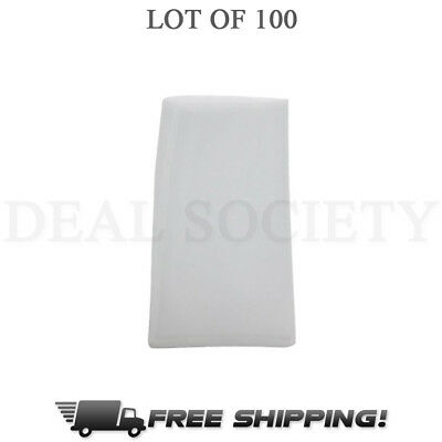 "90 Micron Rosin Press Filter Bags 100 Pack Rosin Screen Bag Filter - 3"" x 5"" - L"