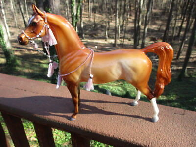 Peter Stone Arabian #AR18046 (My Pumpkin Pie ),Gloss Red Orange Roan