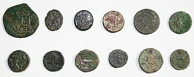 #2 LOT of 10 Mixed Ancient Coins (Roman, Greek, Byzantine and others)