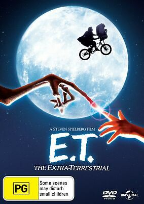 ET The Extra Terrestrial DVD Region 4 NEW