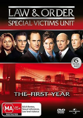 Law and Order Special Victims Unit Season 1 DVD Region 4 NEW