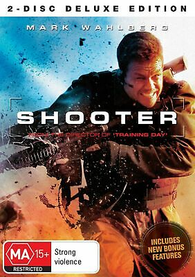Shooter DVD Region 4 NEW