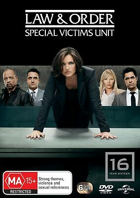 Law and Order Special Victims Unit Season 16 DVD Region 4 NEW