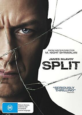 Split DVD Region 4 NEW