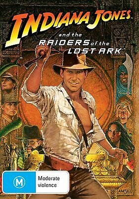 Indiana Jones and the Raiders of the Lost Ark DVD Region 4 NEW
