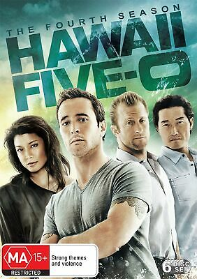 Hawaii Five 0 The Fourth Season 4 DVD Region 4 NEW