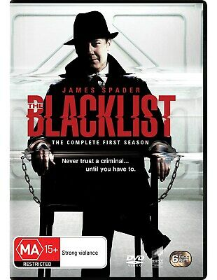 The Blacklist The Complete First Season 1 DVD Region 4 NEW