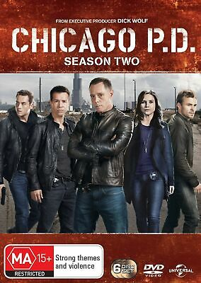 Chicago PD Season 2 DVD Region 4 NEW