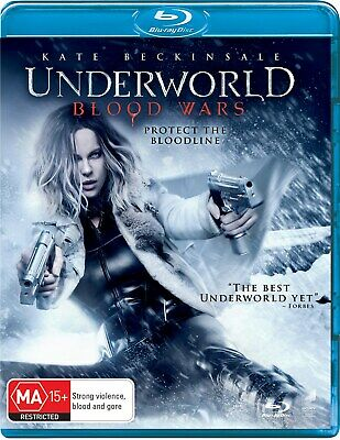 Underworld Blood Wars with UltraViolet Copy Blu-ray Region B NEW