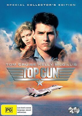 Top Gun DVD Region 4 NEW