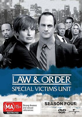 Law and Order Special Victims Unit Season 4 DVD Region 4 NEW