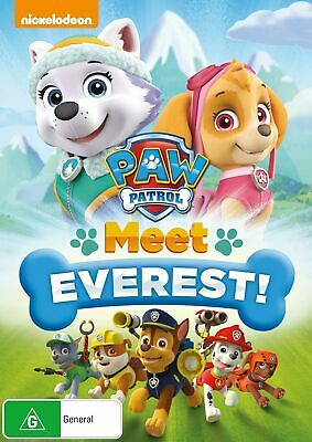 Paw Patrol Meet Everest DVD Region 4 NEW