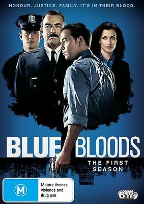 Blue Bloods The First Season 1 DVD Region 4 NEW