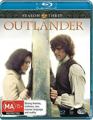 Outlander Season 3 Box Set Blu-ray Region B NEW
