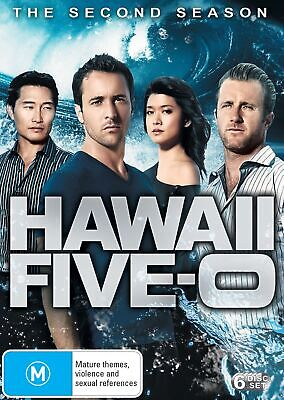 Hawaii Five 0 The Second Season 2 DVD Region 4 NEW