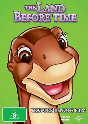The Land Before Time DVD Region 4 NEW