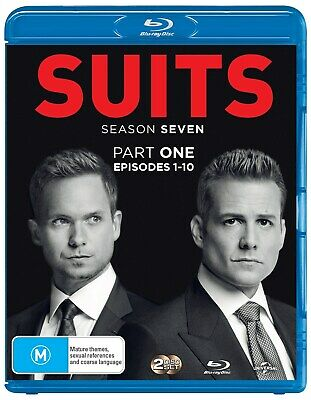 Suits Season Seven Part One Blu-ray Region B NEW