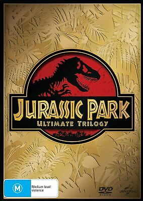 Jurassic Park Trilogy Collection DVD Region 4 NEW