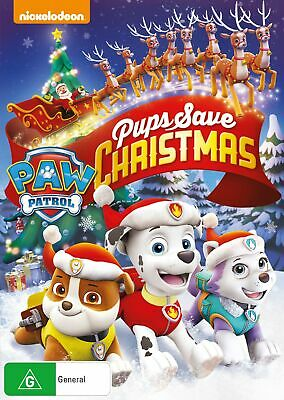 Paw Patrol Pups Save Christmas DVD Region 4 NEW