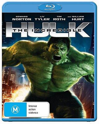 The Incredible Hulk Blu-ray Region B NEW