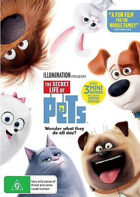 The Secret Life of Pets DVD Region 4 NEW
