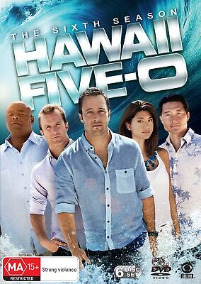 Hawaii Five 0 The Sixth Season 6 DVD Region 4 NEW